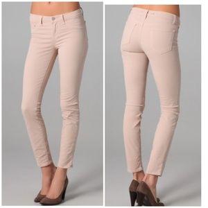 J Brand Beige Nude Skinny Legging Jeans 25 Pants